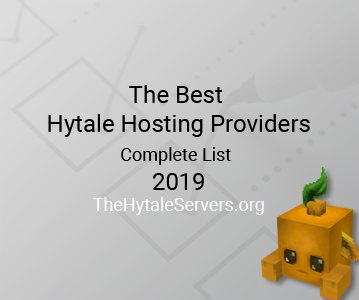 Top Hytale Servers Hosting Providers List